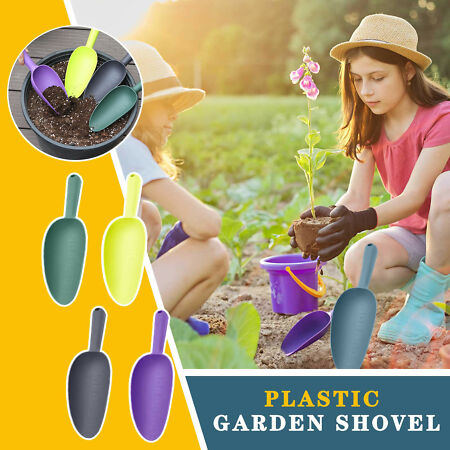 img-Home gardening tools plastic soil shovels lights weight and durable WIDELY USE