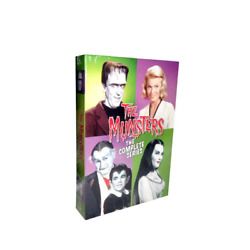 The Munsters the Complete series ( DVD 12 DISC)Brand New