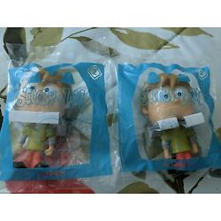 2 McDonald's Happy Meal Toys Scooby-Doo! #2 Shaggy in Sealed Bags
