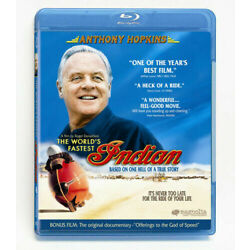 The World's Fastest Indian Anthony Hopkins Blu-ray NEW sealed combined shipping
