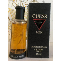 Georges Marciano Guess Men Cologne Spray 2 oz *VINTAGE*