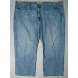TJ15429 **626 BLUE** RELAXED FIT JEANS 58x32 (msr 57''x32'')