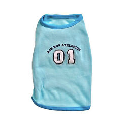 Bow Wow Athletics Tee for Dog Size XS Blue