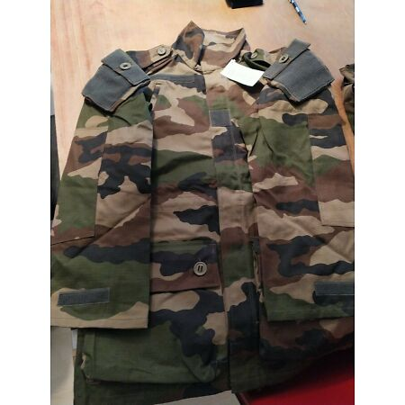 img-Jacket Combat Army French Paratroopers/Forces Spéciales. New 81/88 M.