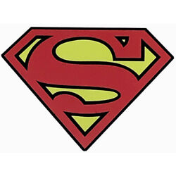Superman Sticker        2 1/3  X 2  AWESOME ,SUPER COOL