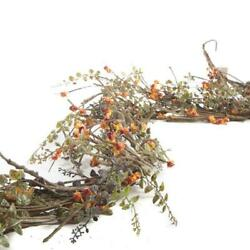 Factory Direct Craft Artificial Woodland Bittersweet and Twig Garland