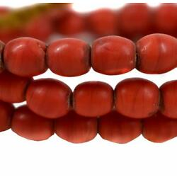 Bohemian  Red Trade Beads Africa
