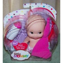 Fisher Price Little Mommy 6'' Mini Baby Girl Doll New