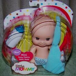 Fisher Price Little Mommy 6'' Mini Baby Boy Doll New
