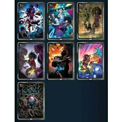 Topps NOW - Silver Rares - 7 Digital Cards Set - September 15 - Marvel Collect