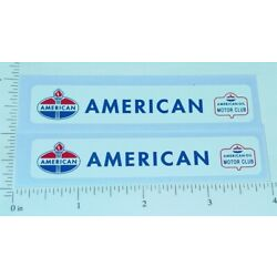 Pair Nylint Ford American Tow Truck Stickers NY-004