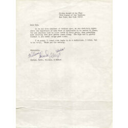 GLADYS KNIGHT & THE PIPS - TYPED LETTER SIGNED WITH CO-SIGNERS