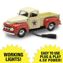 Lighted 1:48 Scale 1951 Ford Texaco Truck New ERROR