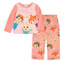 Cocomelon Toddler Girls 2-Piece Pajama Set Size 2T 3T 4T