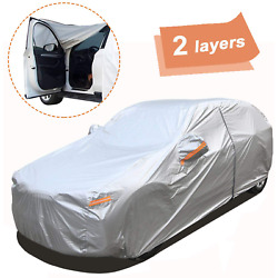 2 Layers SUV Car Cover Waterproof All Weather Outdoor Car Covers For Automobiles