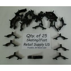 Qty. 25 Butterfly Hook Product Stop Design Inventory Control Shelf Management
