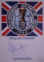 England 1966 World Cup Jules Rimet signed Alan Ball