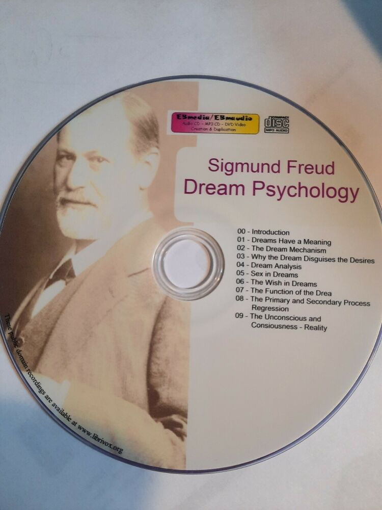 Dream Psychology - S. Freud - audio book Mp3 CD | eBay