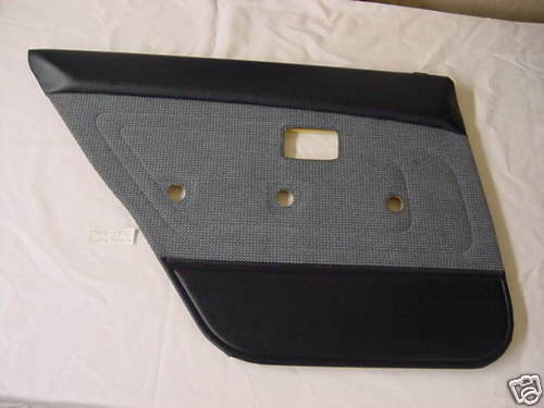 1988 1992 Toyota Corolla Driver S Side Rear Door Panel Ebay