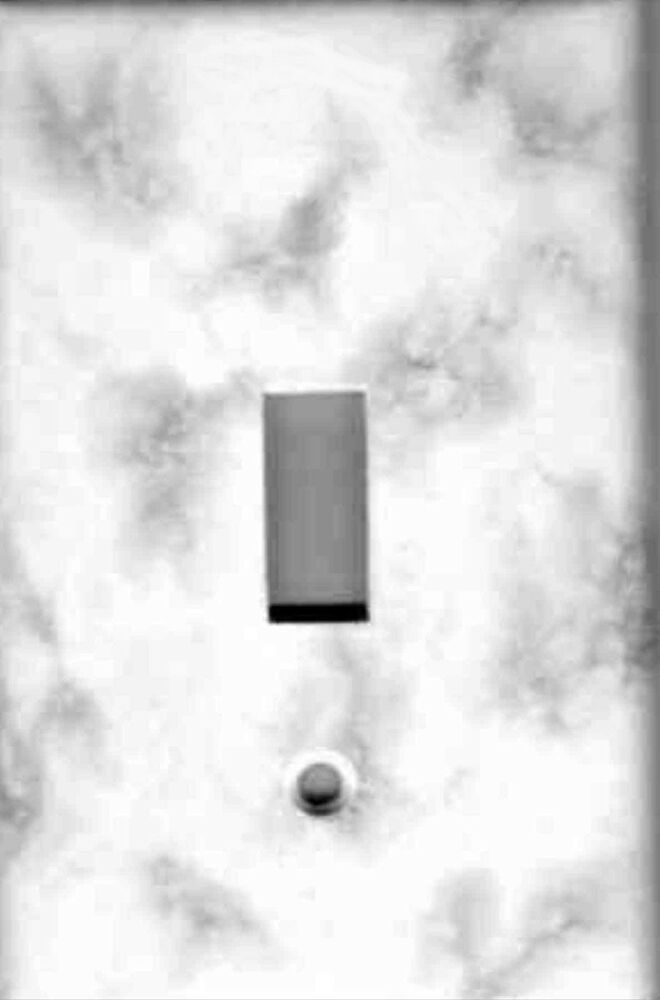 Grey And White Marble Print Home Wall Decor Single Light