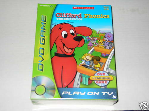 Clifford The Big Red Dog Which Clifford Game