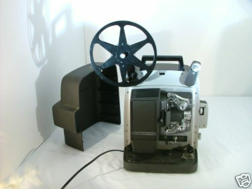 vintage bell howell autoload 8mm film projector auto ebay. Black Bedroom Furniture Sets. Home Design Ideas