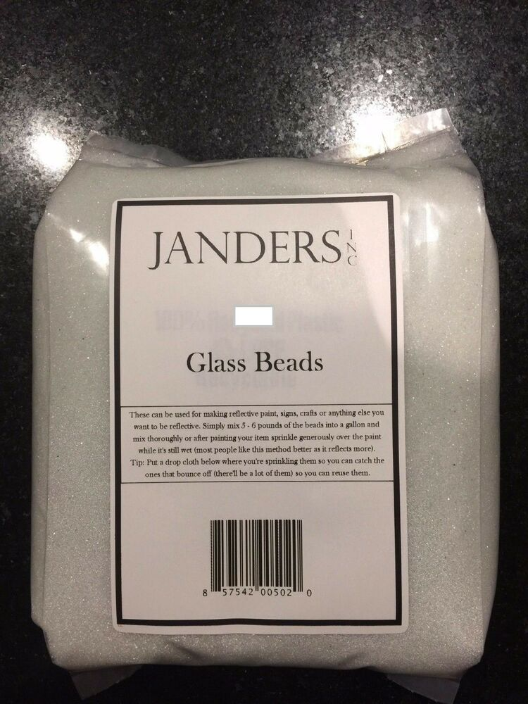 Reflective Glass Beads For Making Reflective Paint Signs