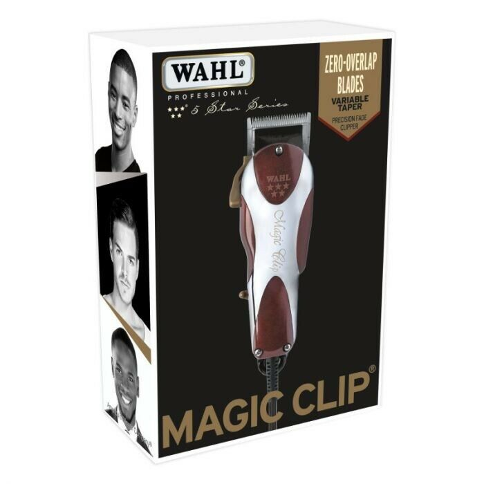 new wahl 5 star magic clip clipper barber 8451 ebay. Black Bedroom Furniture Sets. Home Design Ideas