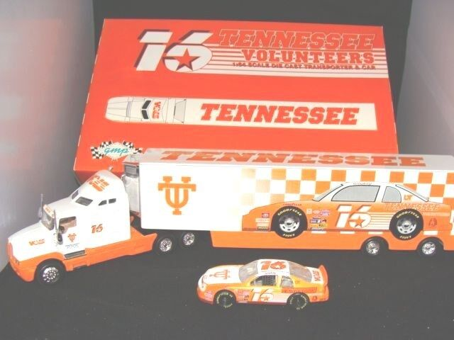 16 university of tennessee hauler with car 1 64 scale ebay. Black Bedroom Furniture Sets. Home Design Ideas