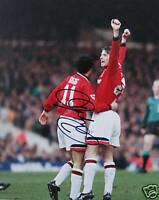 Ryan Giggs Manchester United Premier Signed Photo