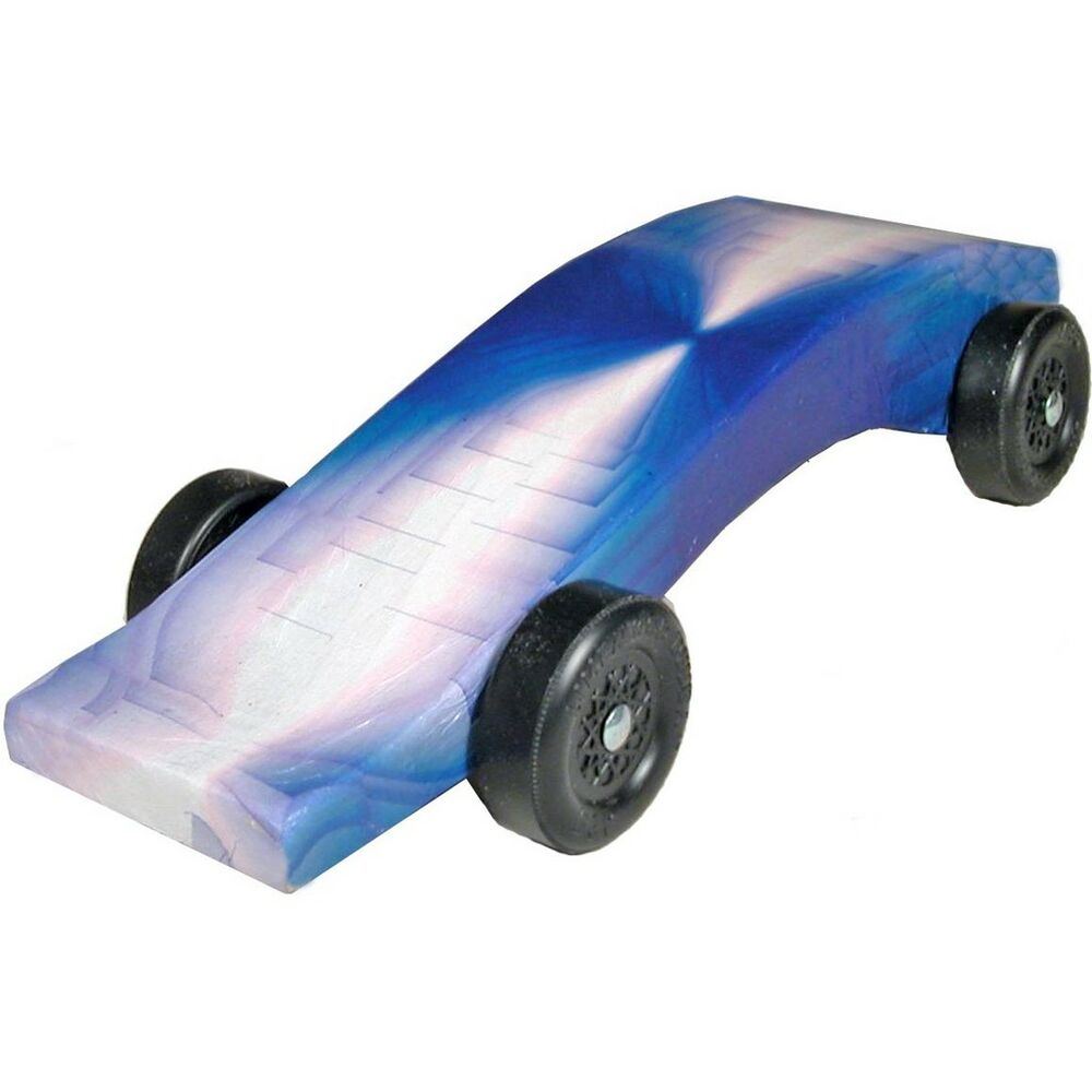 Pinewood derby car illusion body skin ebay for Pinewood derby car image
