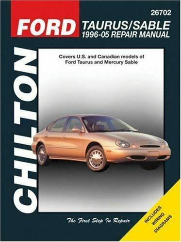 1996 2005 chilton ford taurus sable repair manual. Black Bedroom Furniture Sets. Home Design Ideas