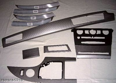 Bmw Genuine E60 E61 5 Series 2004 2007 Pure Aluminum Cube Interior Trim Kit New Ebay