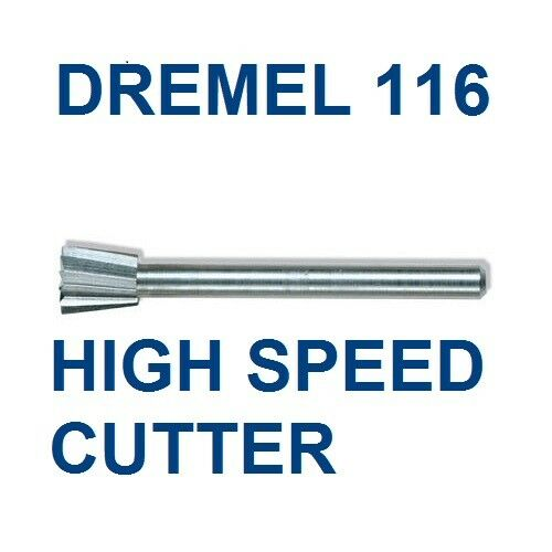 new authentic dremel high speed cutter bit 116 high grade steel ebay. Black Bedroom Furniture Sets. Home Design Ideas