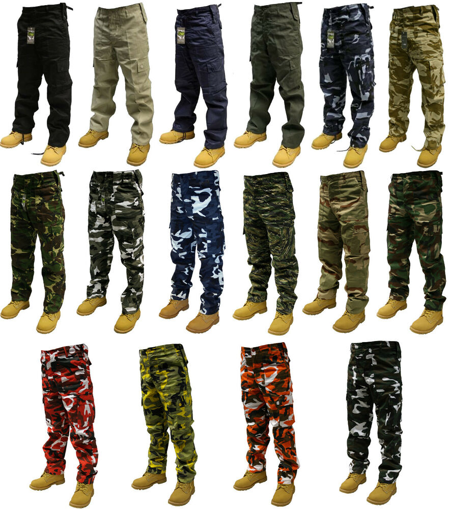 ARMY CARGO CAMO COMBAT MILITARY TROUSERS PANTS 30