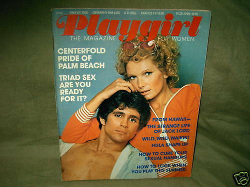 Playgirl (16 issues) from the 1970s and 1980s and 1990s 75 76 77 81 82 83 93 94