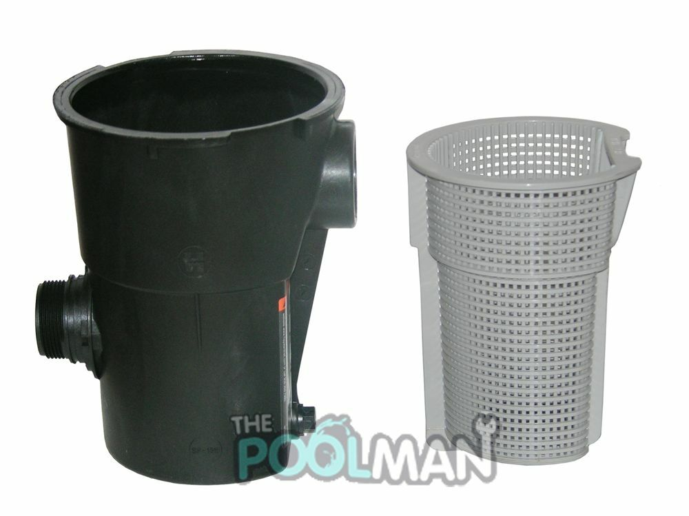 Hayward Lx Swimming Pool Pump Strainer Housing With Basket