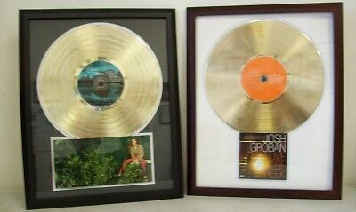 Blank Gold Lp Album Record Award Custom Cd Dvd Display Ebay