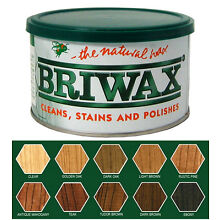 Briwax - 1 LB Tin ~ You select from 10 colors