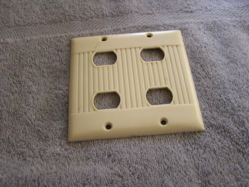 Art Deco Electrical Wall Cover Light Switch Ebay