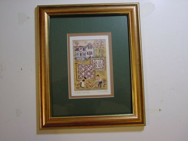 decorative picture signed by artist jay wennersten
