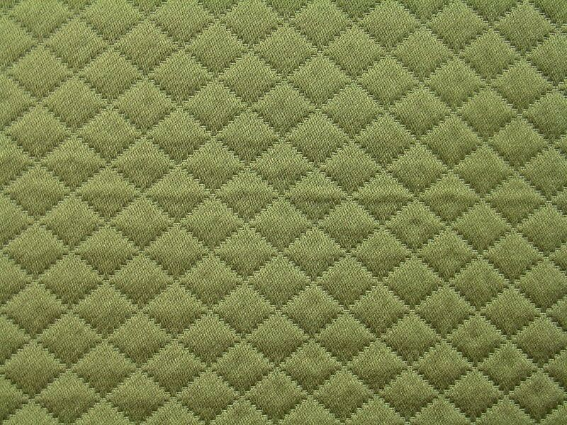 Quilted Fabric Blue Spa Blue Cotton...