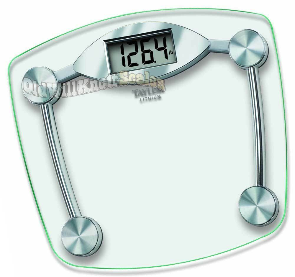 Taylor 7506 1 Rated 400 Digital Weight Scale People