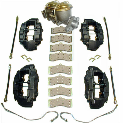 1967-76 Corvette Complete Brake Kit With SS Calipers