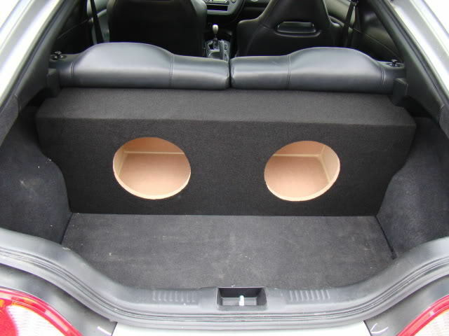 acura rsx custom fitting sub box subwoofer enclosure ebay. Black Bedroom Furniture Sets. Home Design Ideas