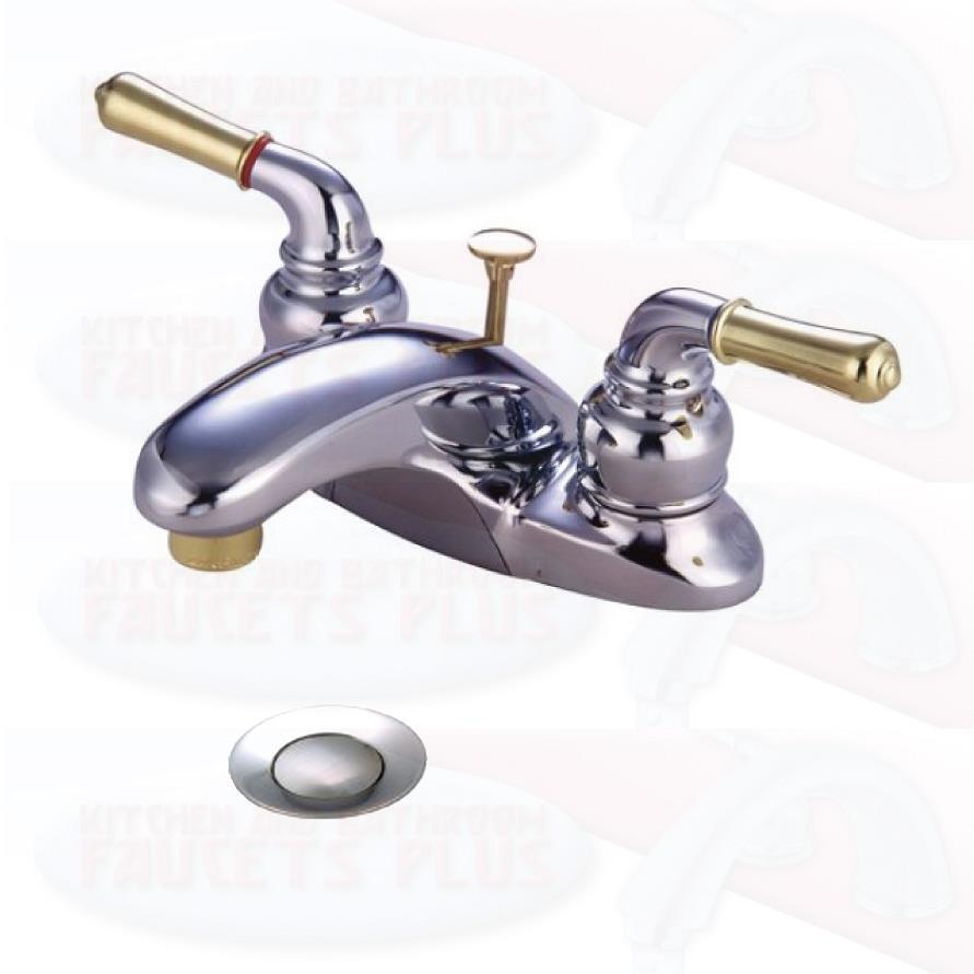 Chrome Bathroom Sink Faucet Faucets New KB624