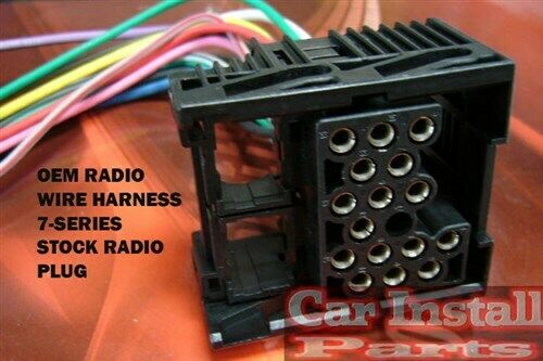Factory Car Stereo Wiring Installation Harness Oem Radio Install Wire
