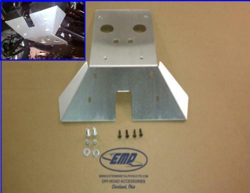 Can am commander front skid plate ebay