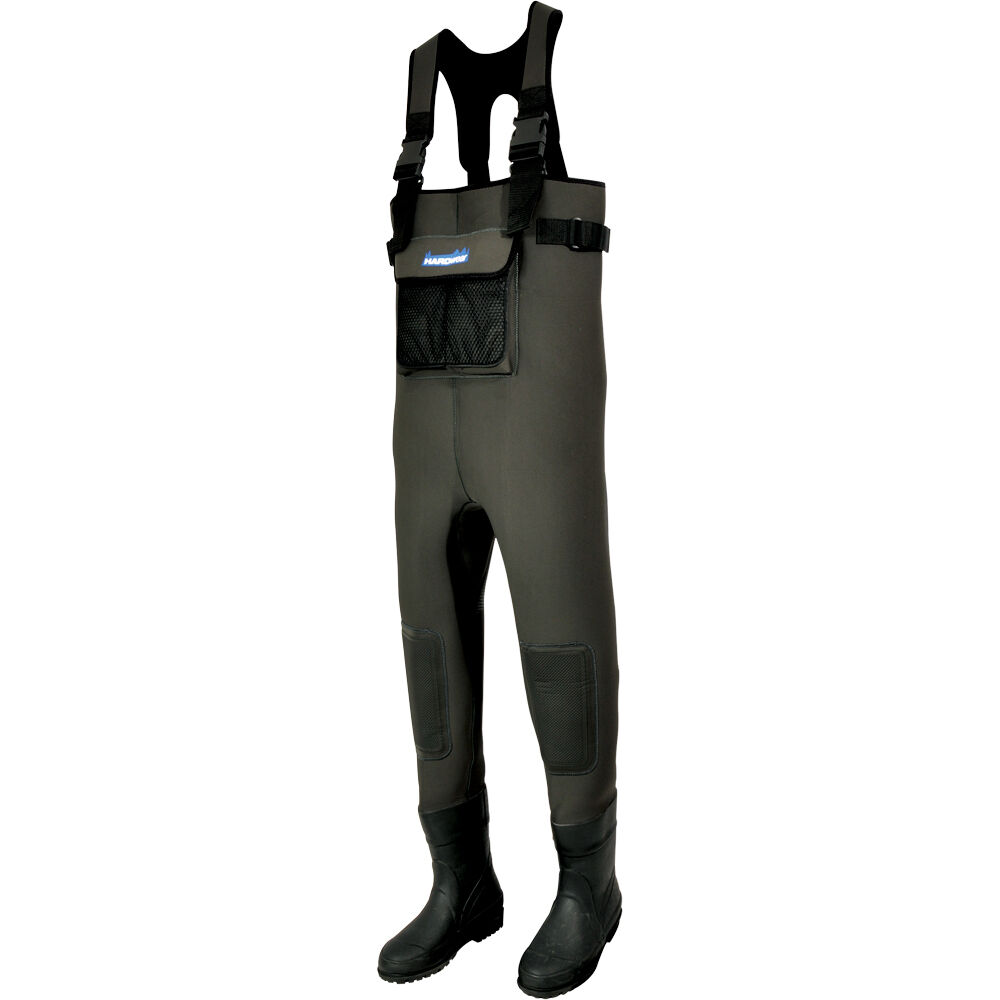 Hardwear new neoprene bootfoot chest waders fly fishing for Fly fishing waders
