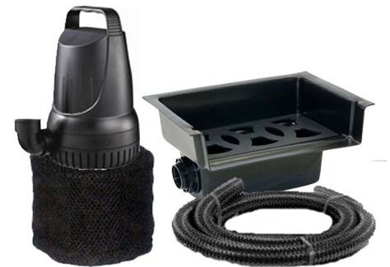 1200 Gph Pond Pump And 14 Waterfall Spillway Combo Kit